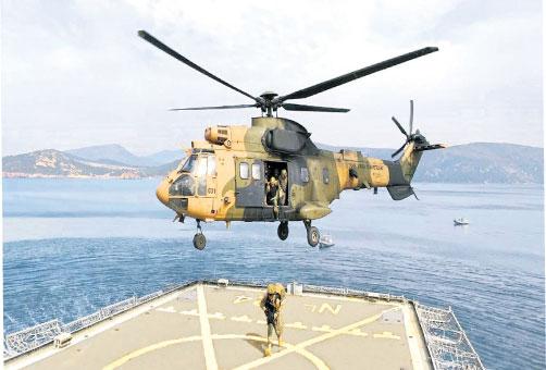 Турецкие военные силы на Черном море