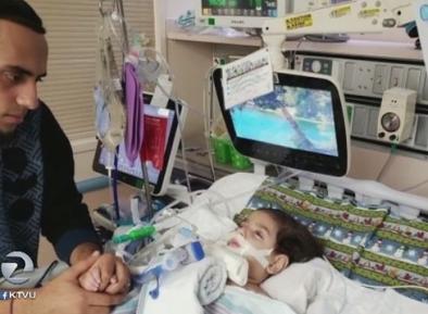 2-летнему Абдулле на смертном одре не дают увидеть маму