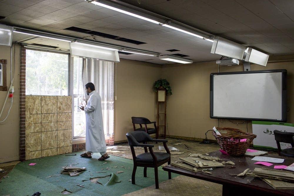Последствия атаки на мечеть Блумингтона