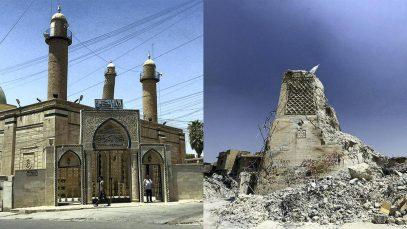 В Ираке занялись мечетью, где аль-Багдади провозгласил себя халифом