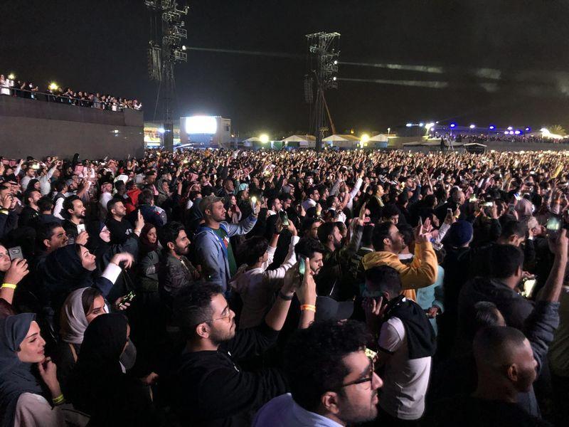Кадр с концерта