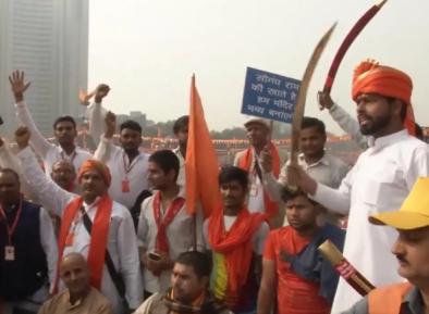 Призывы к сносу главной мечети Индии шокировали общественность