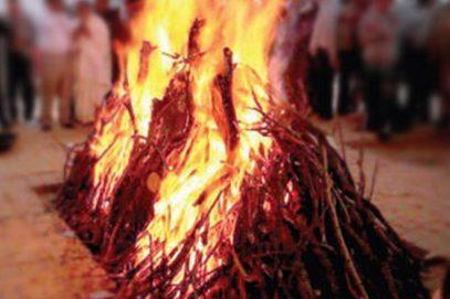Мусульманин сжег своего начальника на костре в знак благодарности