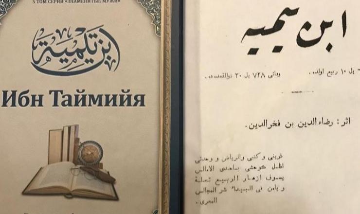 Обложка книги «Ибн Таймийя»