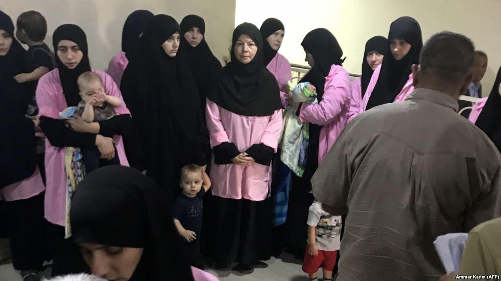 В иракских тюрьмах содержатся сотни россиянок с детьми