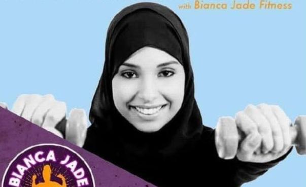 Рекламный плакат Бьянки