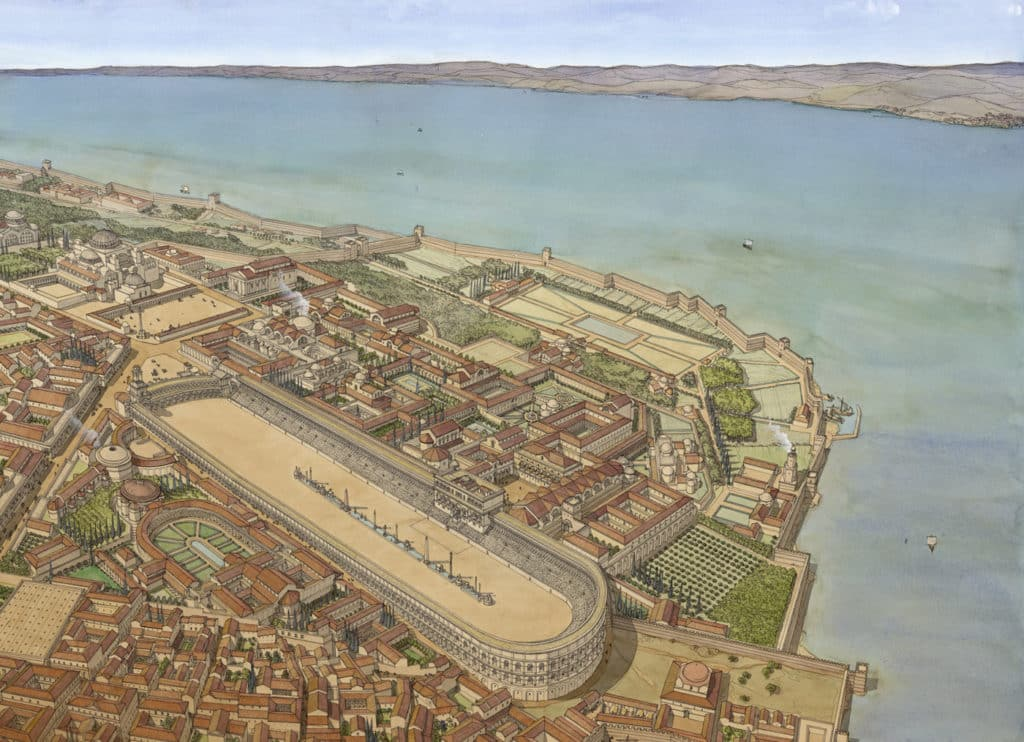 Средневековый Константинополь