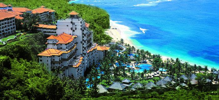 Один из курортов Индонезии