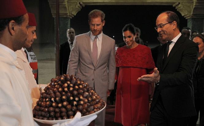 Кадр встречи гостей в Марокко