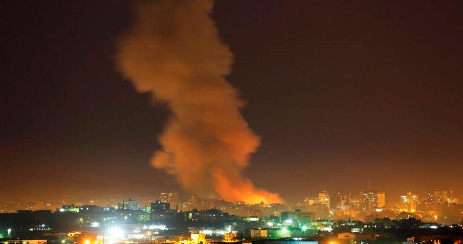 Обстреливаемый сектор Газа