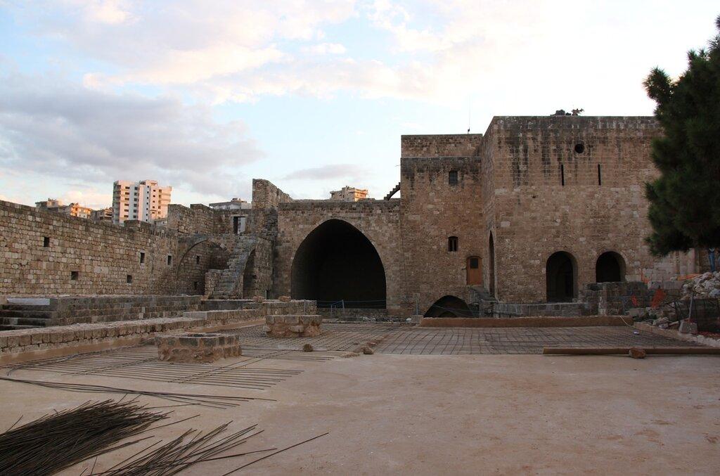 Древняя крепость Бейрута