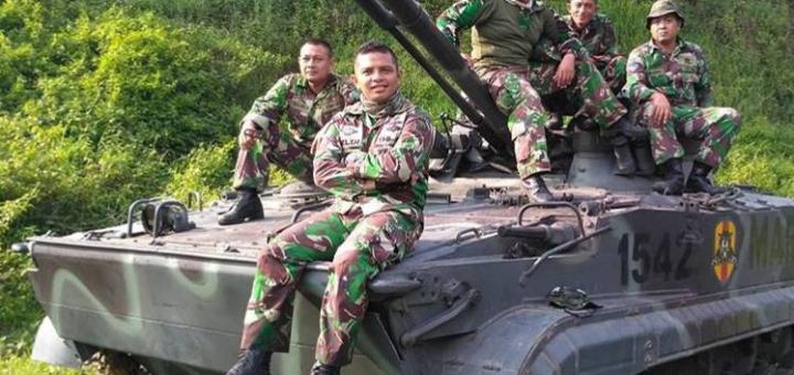 БМП-3Ф морской пехоты Индонезии