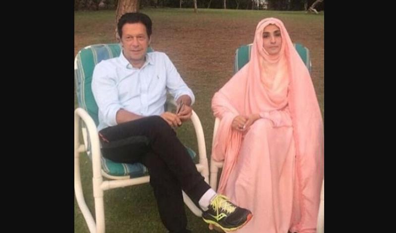 Имран Хан с супругой Бушрой