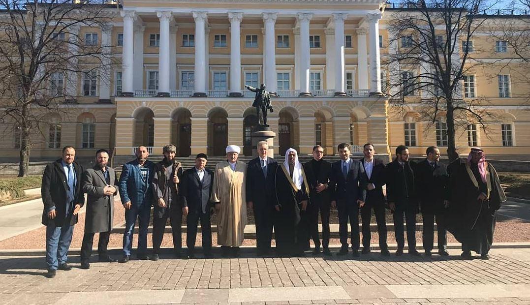 Саудовская делегация в Санкт-Петербурге