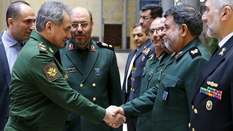 Представители военного руководства РФ и Ирана