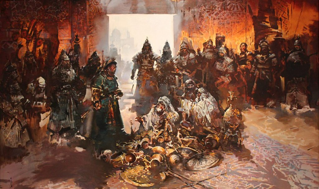 Монголы в Багдаде