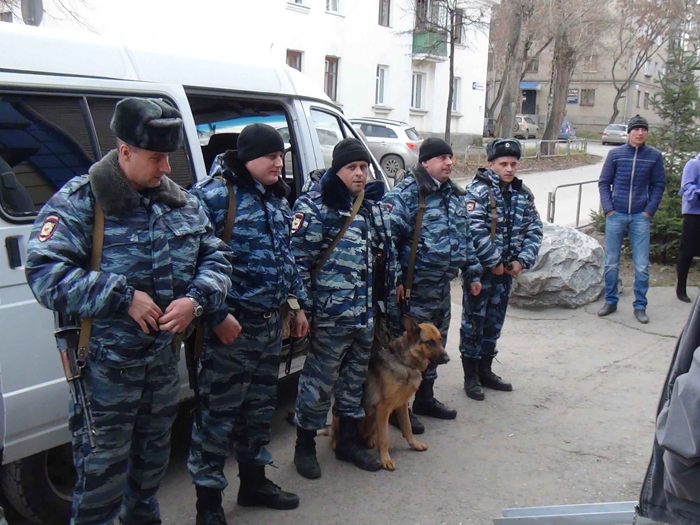 Полицейские в Дагестане