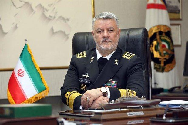 Командующий ВМС Ирана Хоссейн Ханзади