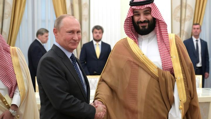 Президент России и наследный принц Саудовской Аравии