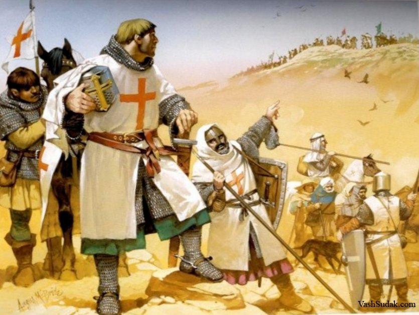 Крестоносцы на чужбине