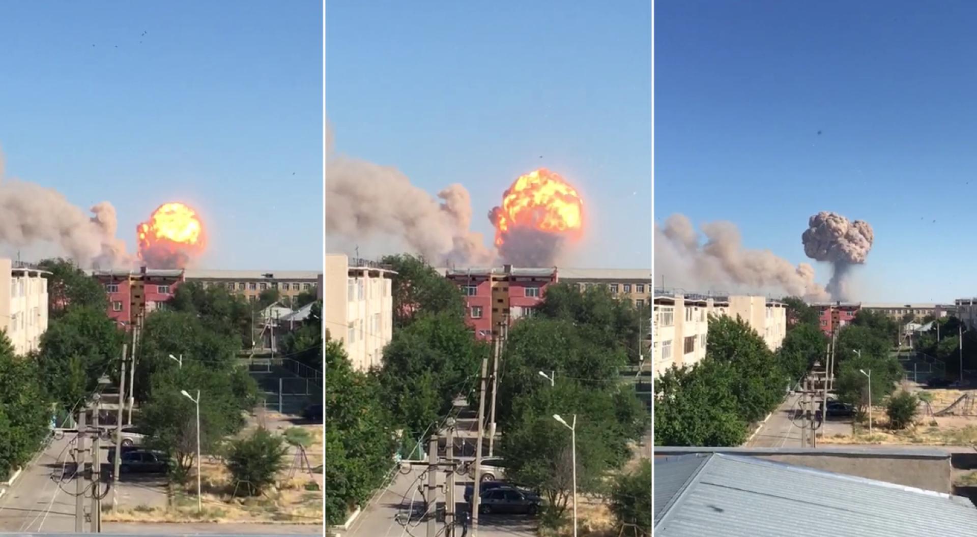 Из города начали эвакуацию населения после серии взрывов