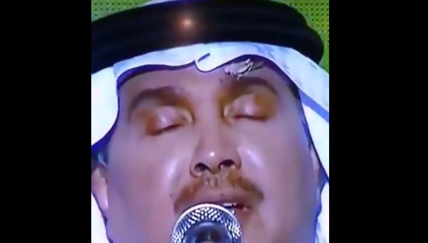 Мухаммед Абду с насекомым на лбу