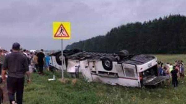 Последствия аварии. Фото : группа «Ufa1.ru | новости Уфы и Республики Башкортостан» во ВКонтакте