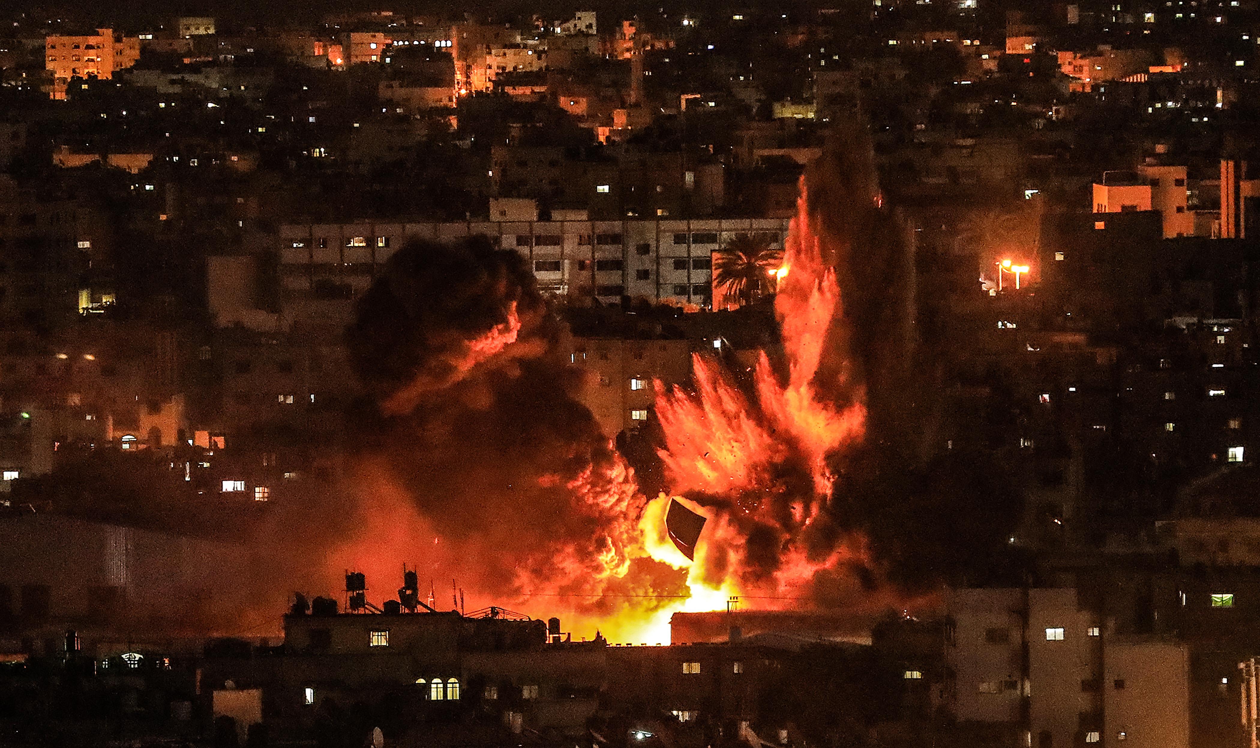 Израильский ночной налет