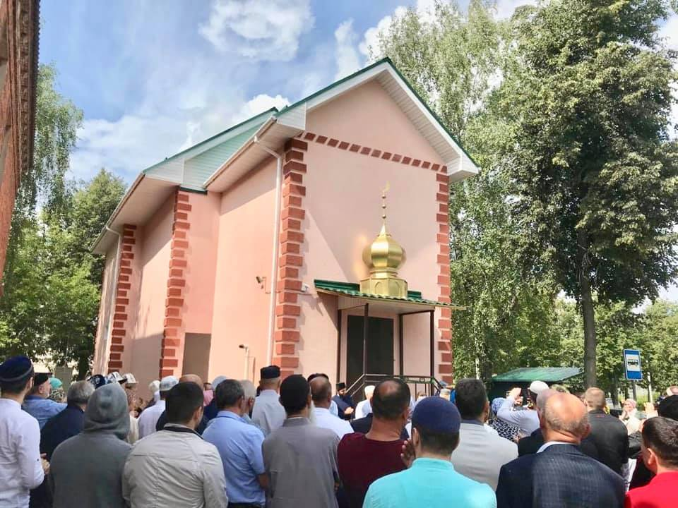 Открытие мечети
