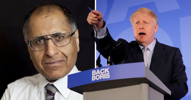 Мухаммед Амин vs Борис Джонсон
