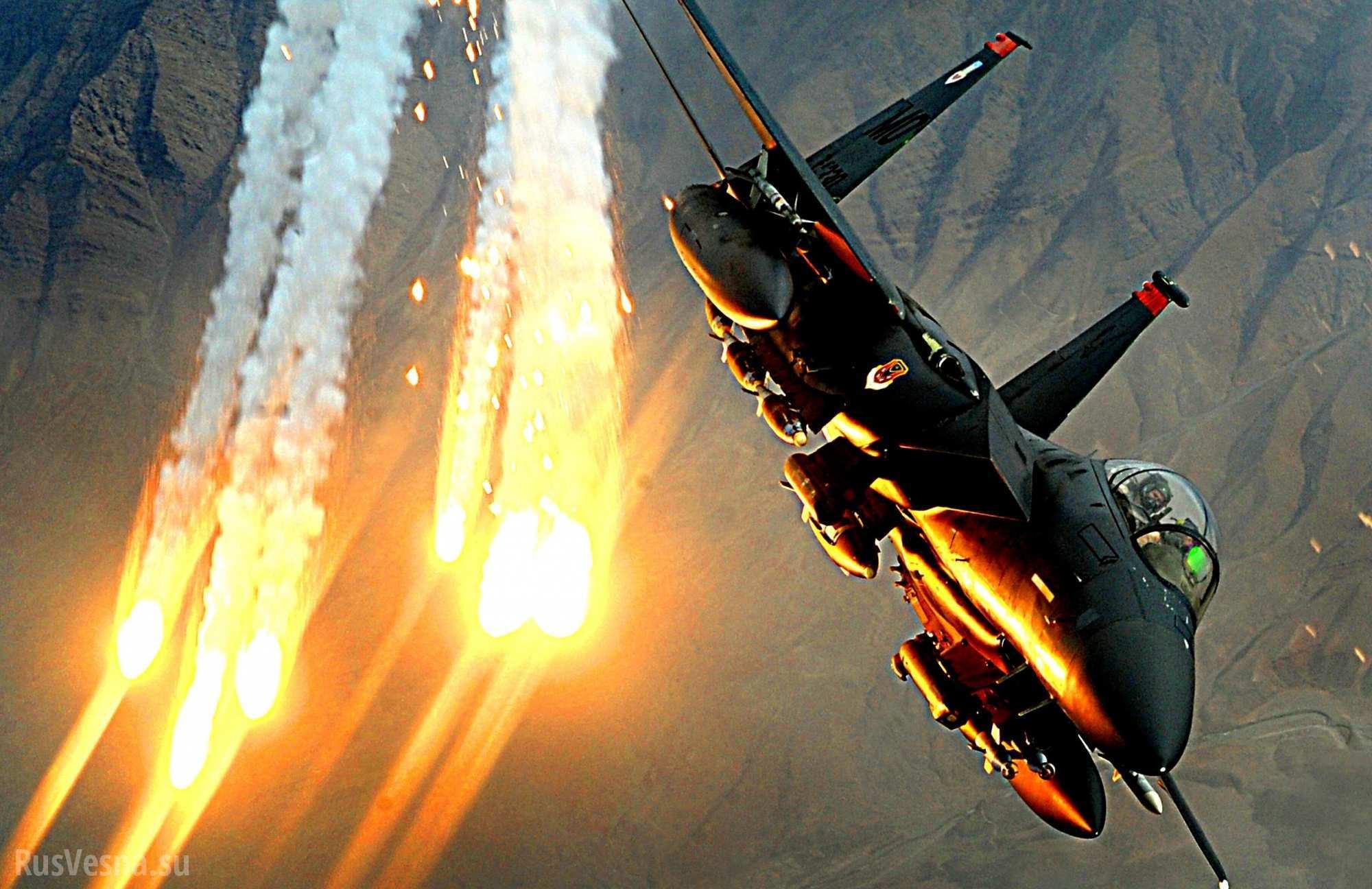 Израильские самолеты атаковали Сирию из воздушного пространства Ливана