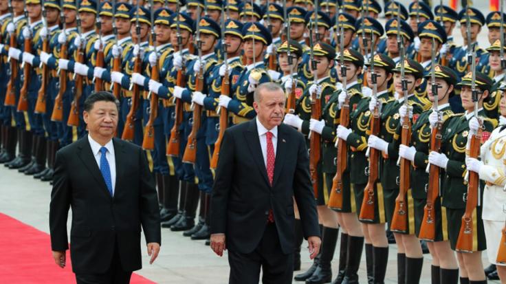Си Цзиньпин и Реджеп Тайип Эрдоган