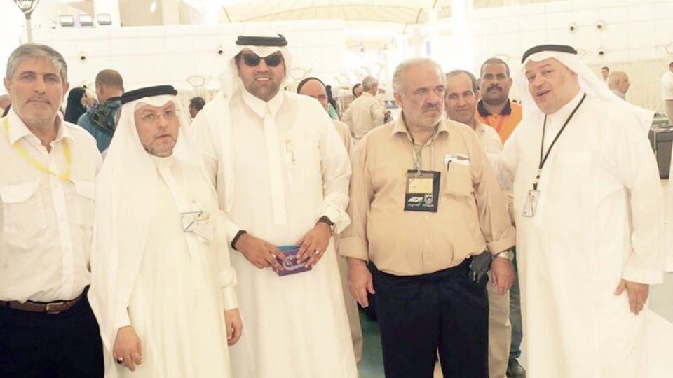 Саудовцы встречают паломников из Ирана
