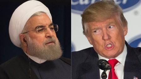 Хасан Роухани и Дональд Трамп