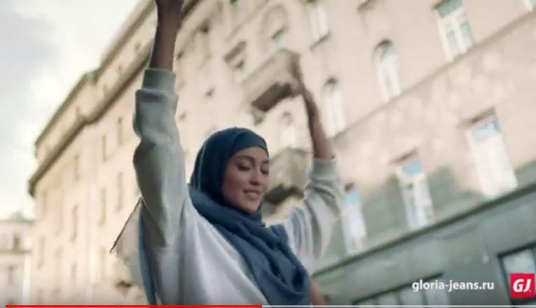 Кадр из ролика «Глория Джинс»