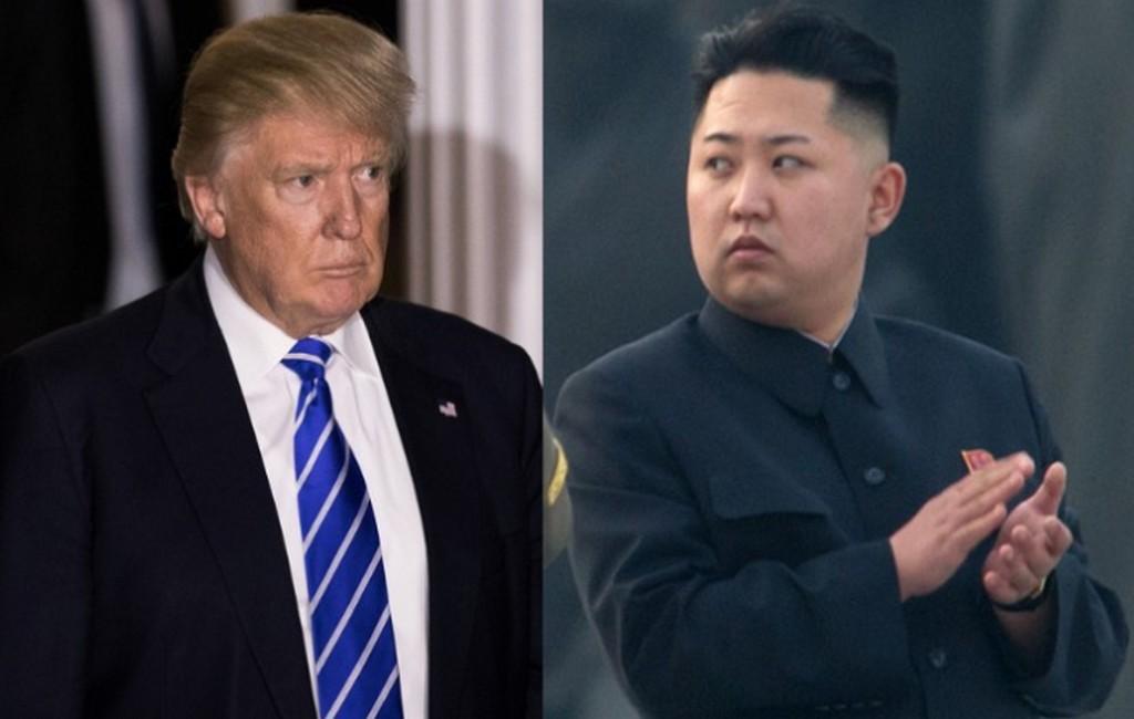 Лидеры США и Северной Кореи