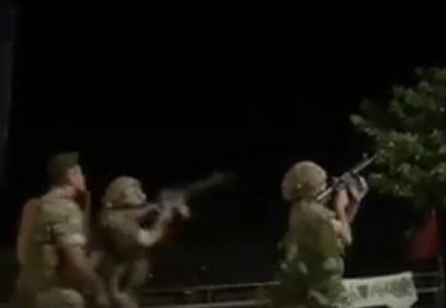 Фрагмент видео стрельбы по израильским БПЛА