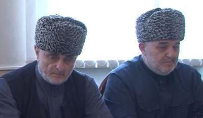 Слева направо: А.Мартазанов и И.Хамхоев