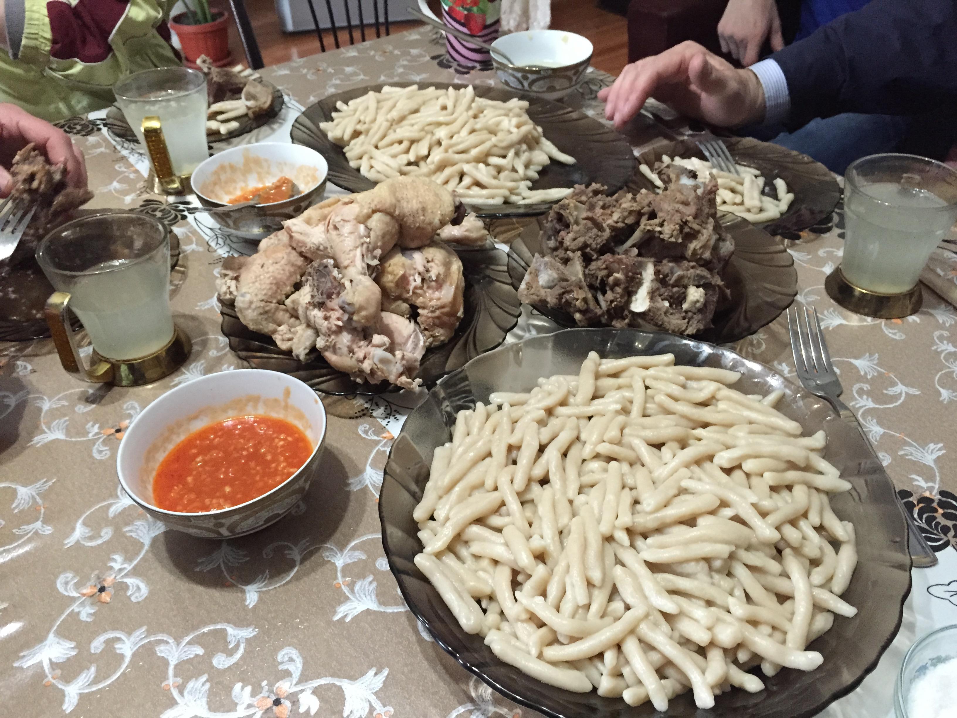 Блюда дагестанской кухни