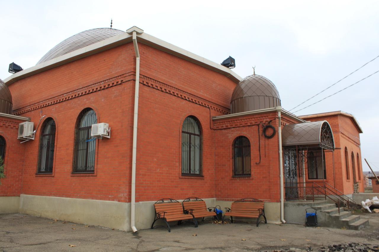 Мечеть в поселоке Яблоновский (Республика Адыгея)