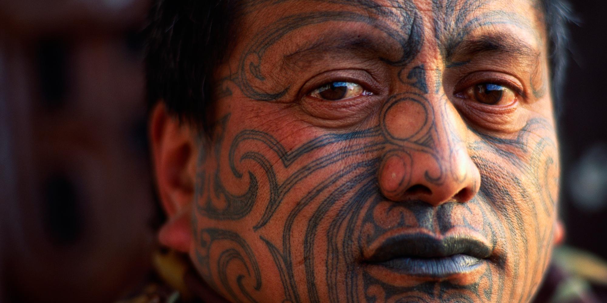 Представитель народа маори
