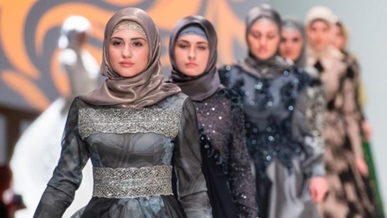 Одна из коллекция дома моды Кадыровой