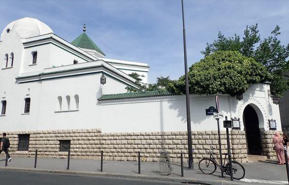 Парижская мечеть - вид с улицы