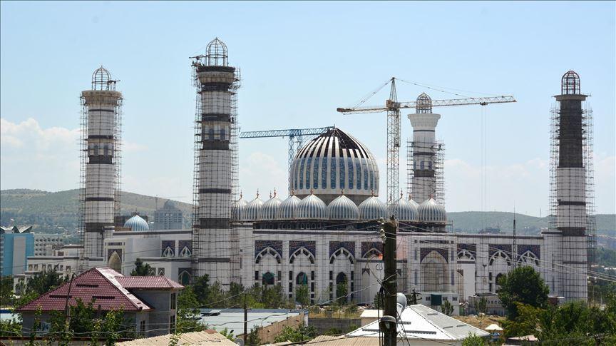 Центральная мечеть Душанбе