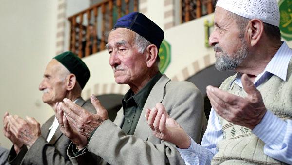 Крымские татары. Фото: РИА Новости