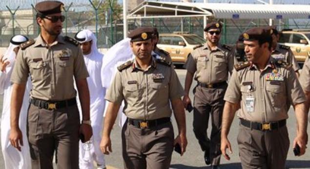 Пограничники ОАЭ