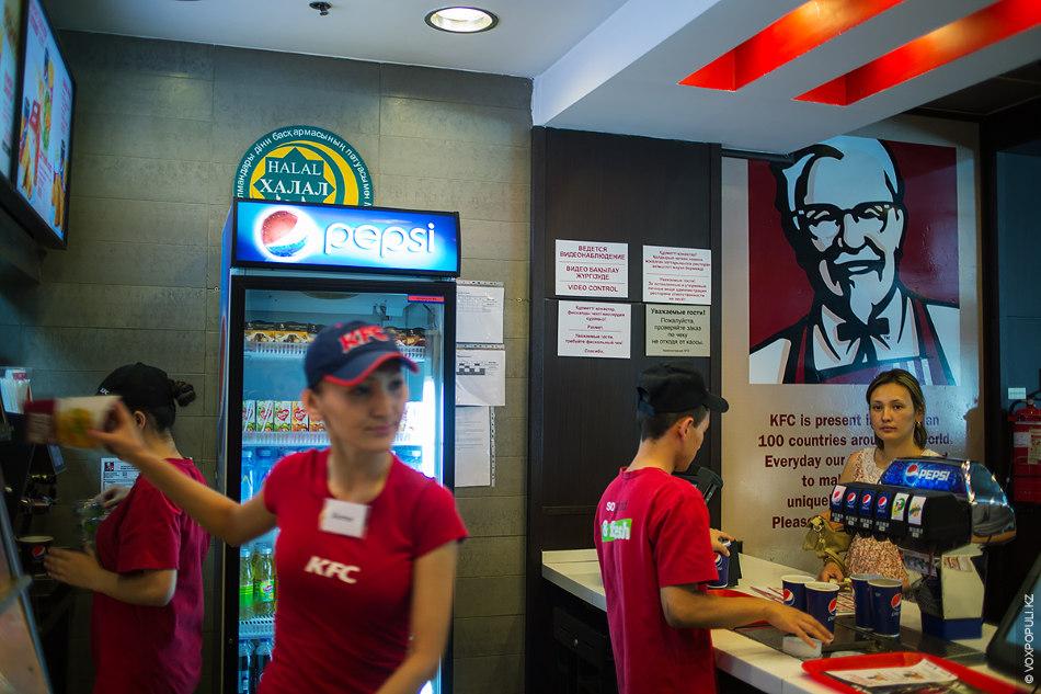 Халяльный ресторан сети в Казахстане