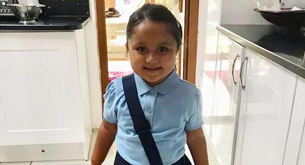 5-летняя Тафида до травмы
