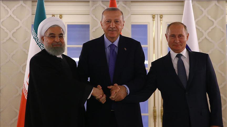 Путин: Мы договорились с Рухани и Эрдоганам по Сирии