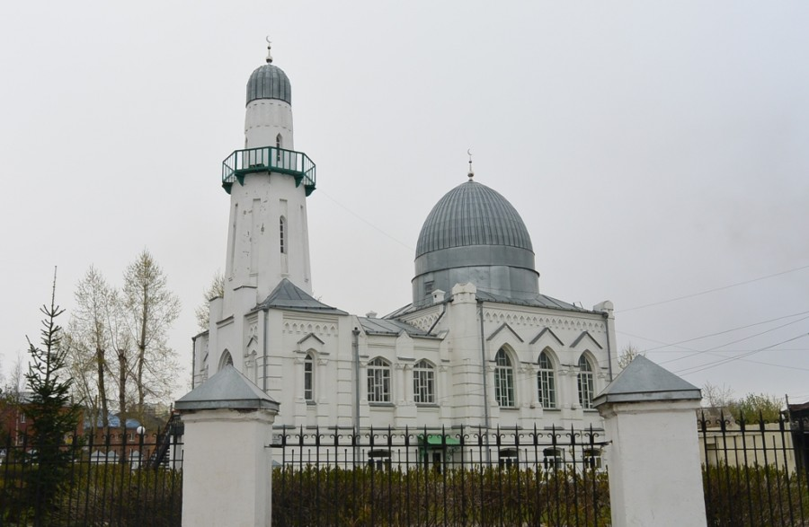 Томск. Белая мечеть